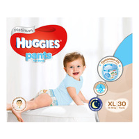 Huggies Platinum Boy Pants - XL (13 - 18kg) 30S