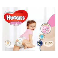 Huggies Platinum Girl Pants - XL (13 - 18kg) 30S
