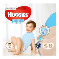 Huggies Platinum Boy Pants - XXL (17+ kg) 26S