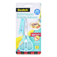 3M Scotch Portable Food Scissors with Anti Bacteria Cover