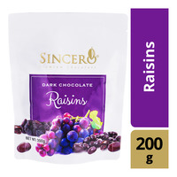 Sincero Dark Chocolate - Raisins