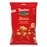Loacker Classic Mini Crispy Wafers - Napolitaner