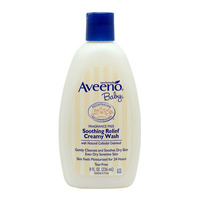 Aveeno Baby Wash - Soothing Relief (Creamy) 236ML