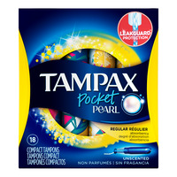 Tampax Pocket Pearl Tampons - Regular (Unscented)