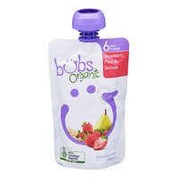 Organic Bubs Baby Food - Strawberry & Pear with Quinoa