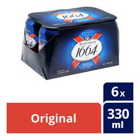 Kronenbourg 1664 Can Beer - Original