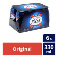 Kronenbourg 1664 Can Beer - Original