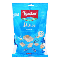 Loacker Classic Mini Crispy Wafers - Vanille