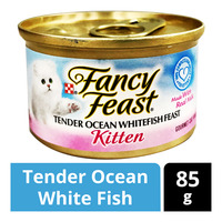 Fancy Feast Kitten Cat Food - Tender Ocean White Fish