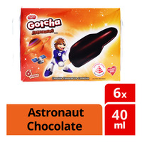 F&N Magnolia Gotcha Ice Cream - Astronaut Chocolate