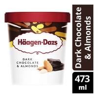 Haagen-Dazs Ice Cream - Dark Chocolate & Almonds