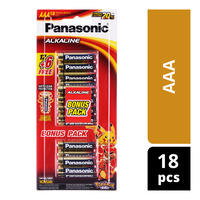 Panasonic Alkaline Battery -AAA