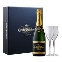 Canard-Duchene Champagne - Brut + 2 Champagne Flutes