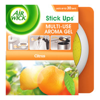 Air Wick Stick Ups Multi-Use Aroma Gel - Citrus