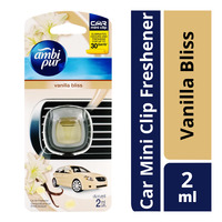 Ambi Pur Car Mini Clip Air Freshener - Vanilla Bliss