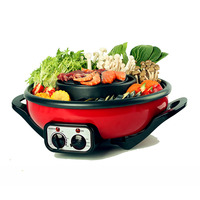 Morries 2 in 1 Mookata BBQ Hot Pot (MS882)