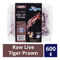 Pan Royal Premium Quick Frozen Raw Live Tiger Prawn