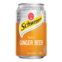 Schweppes Carbonated Can Drink - Spicy Ginger Beer