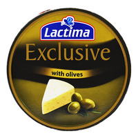 Lactima Exclusive Processed Cheese Portions - Olives