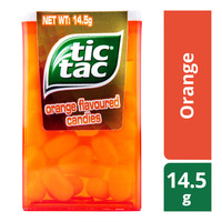 Tic Tac Candies - Orange