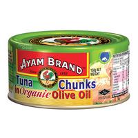 Ayam Brand Tuna Chunks - Organic Olive Oil