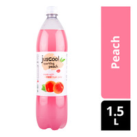 Juscool Sparkling Bottle Drink - Peach