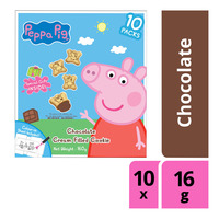 Peppa Pig Cream Filled Cookie - Chocolate