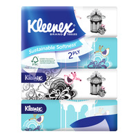 Kleenex Facial Tissue Soft Pack (2ply)