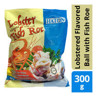 Halton Frozen Lobstered Flavored Ball with Fish Roe