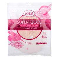 MEB Super Foods Organic Wraps - Chickpeas Quinoa & Beetroot