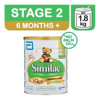 Abbott Similac Follow On Milk Formula - Stage 2 1.8KG