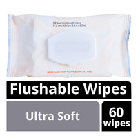Kirkland Signature Moist Flushable Wipes - Ultra Soft