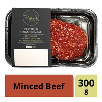 Ryan's Organic Frozen Minced Beef