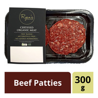 Ryan's Organic Frozen Beef Patties