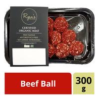 Ryan's Organic Frozen Beef Ball