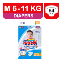 GOO.N Japan Version Diapers Tape - M (6 - 11kg)