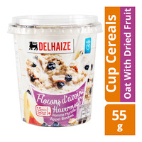 Delhaize Cup Cereals - Oat With Dried Fruit