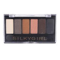 Silkygirl Truly Nude Eye Shadow Palette - 01 Earthy