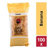 All Natural Bakery Oat Slice - Banana  100G