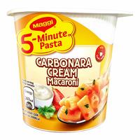 Maggi 5-Minute Instant Cup Pasta - Carbonara Cream Macaroni