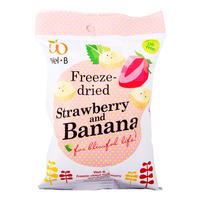 Wel.B Baby Freeze Dried Fruit - Strawberry & Banana