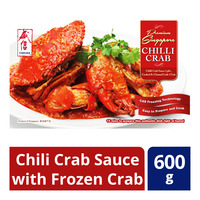 Vismark Premium Chili Crab Sauce with Frozen Crab