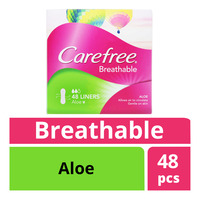 Carefree Breathable Liners - Aloe