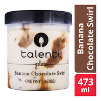 Talenti Gelato Ice Cream - Banana Chocolate Swirl