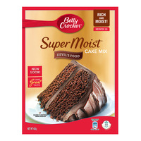 Betty Crocker Super Moist Cake Mix - Devil's Food