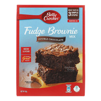 Betty Crocker Fudge Brownie Mix - Double Chocolate