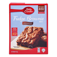 Betty Crocker Fudge Brownie Mix - Chocolate