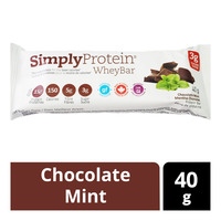 Simply Protein Whey Bar - Chocolate Mint
