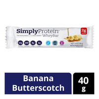 Simply Protein Whey Bar - Banana Butterscotch