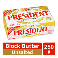 President Block Butter - Unsalted